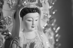Yin de Kuan la déesse de la pitié photos libres de droits