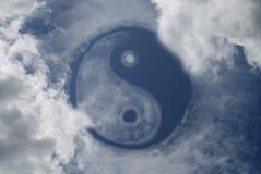 Yin e Yang fotografie stock libere da diritti
