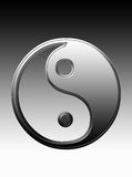Yin e Yang Foto de Stock
