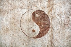 Yin e yang Fotografia de Stock