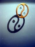 Yin e Yang Imagens de Stock Royalty Free