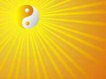 Yin e yang Ilustração Stock