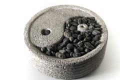 Yin e yang Imagens de Stock