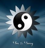 Yin en symbool Yang Royalty-vrije Stock Afbeeldingen