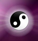 Yin en symbool Yang Stock Foto