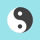 Yin en symbool Yang Royalty-vrije Illustratie