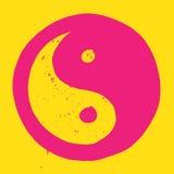 Yin en symbool Yang Royalty-vrije Stock Foto