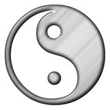 Yin en Yan stock illustratie