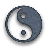 Yin en Yang Royalty-vrije Stock Afbeeldingen