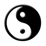 Yin en yang Royalty-vrije Stock Afbeelding