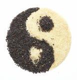 yin för 5 yang Fotografering för Bildbyråer