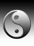 Yin und Yang Stockfoto