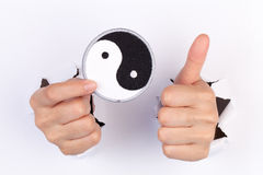 Yin und Yang Lizenzfreie Stockfotografie