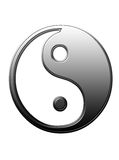 Yin und Yang II Stockbild