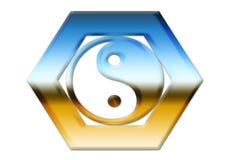 Yin y Yang imagenes de archivo