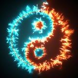 Yin y yang Imagen de archivo libre de regalías