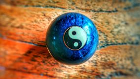 Yin y yang Foto de archivo libre de regalías