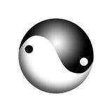 Yin y Yang Symbol Ilustración del Vector