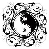Yin y Yang Tatoo fotos de archivo libres de regalías