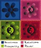 Yin Yan & Feng Shui symbol Royalty Free Stock Images