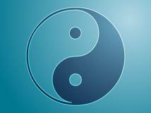 yin yang символа Стоковые Изображения
