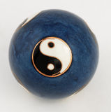 yin yang шарика Стоковое Изображение