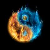 Yin-Yang Stock Afbeeldingen