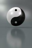 Yin Yang Royalty-vrije Stock Foto's