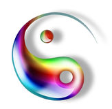 yin yang Стоковая Фотография