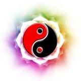 Yin-yang illustrazione vettoriale