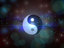 Yin-yang illustration stock