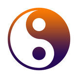 Yin Yang. Yin And Yang - Chinese Philosophy Concept, Two Primal Opposing But Complementary Principles Royalty Free Stock Photography