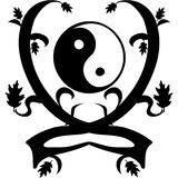 Yin and yang Royalty Free Stock Images