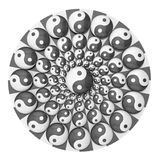Yin and Yang Stock Photography