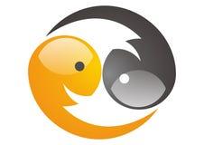 Yin yang  Fotografering för Bildbyråer