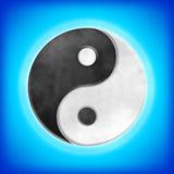Yin Yang Royaltyfri Fotografi
