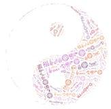 Yin Yang Imagem de Stock