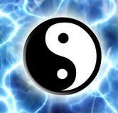 Yin Yang Imagenes de archivo