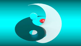 Yin Yang illustration libre de droits