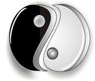 Yin Yang Immagini Stock Libere da Diritti