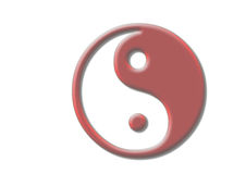Yin & Yang Royalty Free Stock Photo