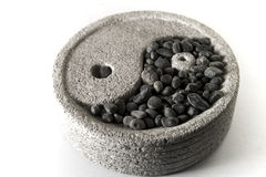 Yin and yang Stock Images