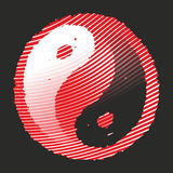 Yin and yang Royalty Free Stock Images