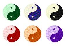 Yin Yang - cdr format Stock Image