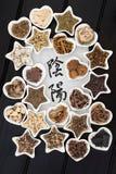 Yin Yang Chińska Ziołowa medycyna Obraz Royalty Free