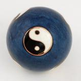 Yin yang da esfera Imagem de Stock