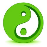 Yin yang elements Royalty Free Stock Image