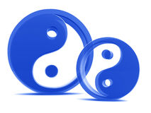 Yin yang elements Stock Photography