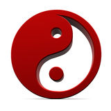 Yin yang elements Royalty Free Stock Photos