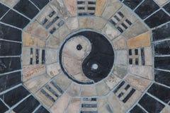 Yin yang, fengshui arkivfoto